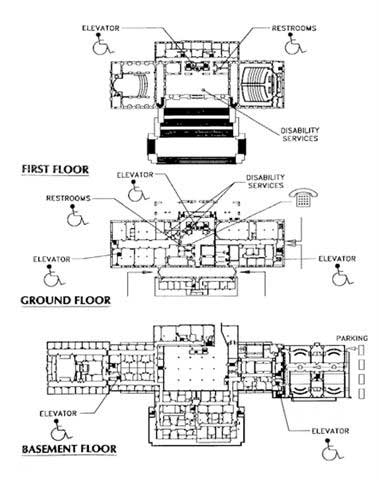 Map of the Capitol