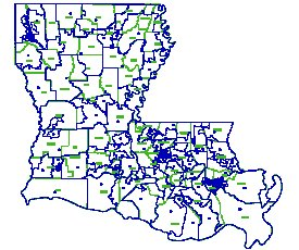 louisiana house of representatives map 1990 Map Redistricting Louisiana louisiana house of representatives map